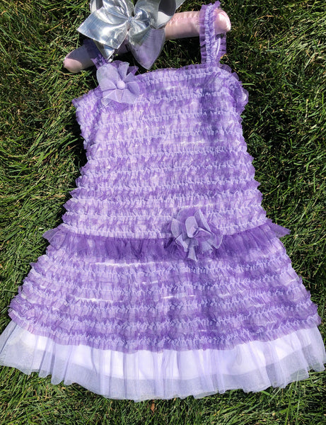 ISOBELLA and CHLOE PURPLE/LAVENDER DRESS