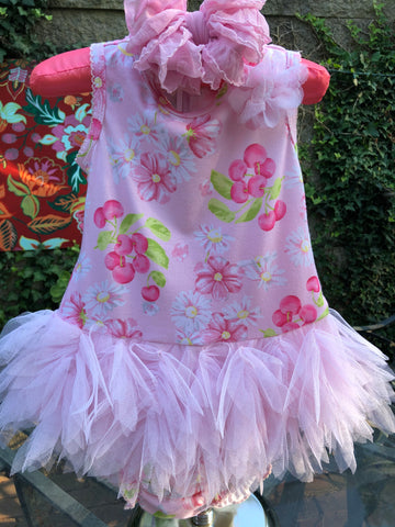 BISCOTTI CHERRY BLOSSOM DRESS