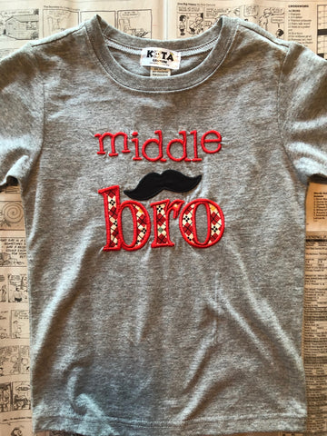 MIDDLE BROTHER TEE