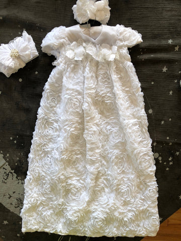 BEBEMONDE TWO PIECE BAPTISMAL GOWN