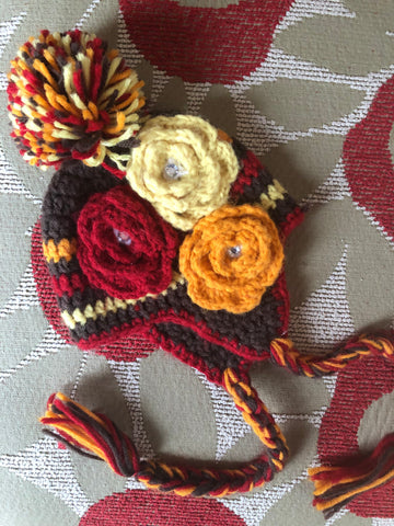 DAISY BABY FALL HAT