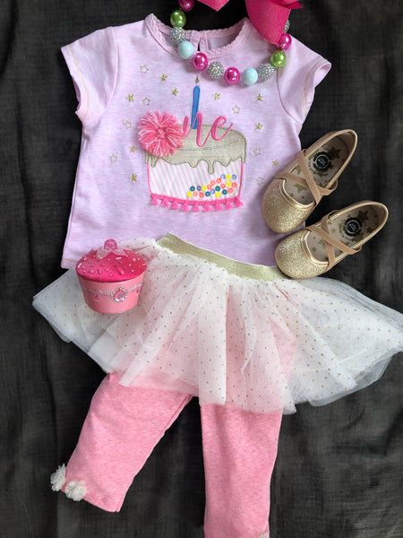 MUD PIE TUTU LEGGINGS