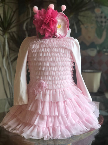 BISCOTTI LAYERS OF RUFFLES BIRTHDAY DRESS