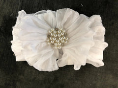 SOFT HEADBANDS WITH PEARL/RHINESTONES