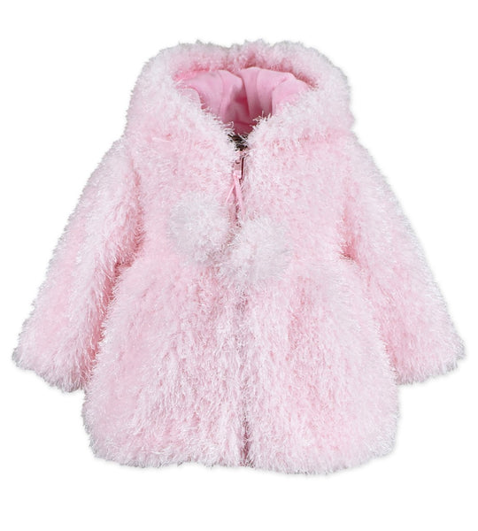 WIDGEON PINK POM POM JACKET