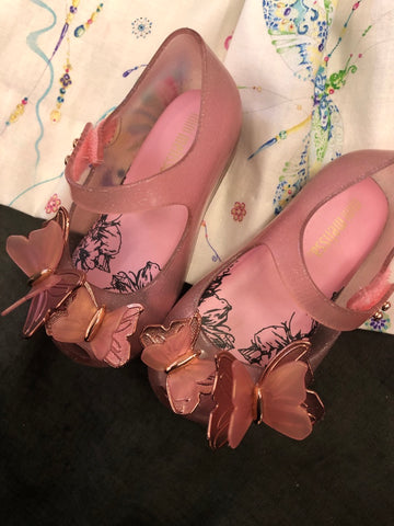 MINI MELISSA PINK BUTTERFLY
