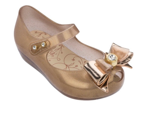 MINI MELISSA GOLD BOW ULTRA GIRL