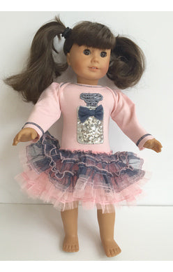 BIRTHDAY DOLL DRESS