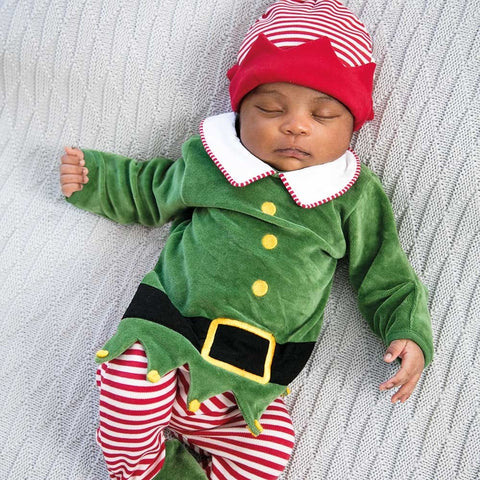 2-PIECE ELF ROMPER SET