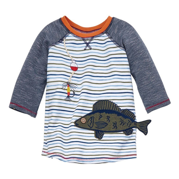 Mud Pie Gone Fishing Tee