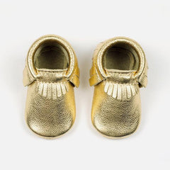 FRESHLY PICKED GOLD MOCCASINS