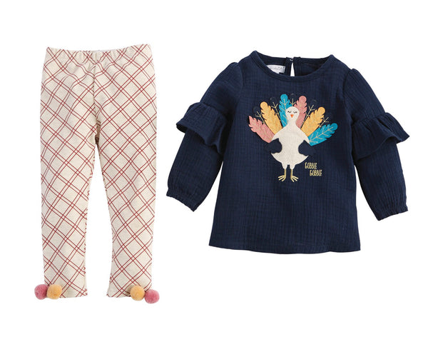 GOBBLE GOBBLE TUNIC & LEGGING SET