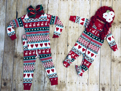 ORGANIC CHRISTMAS PAJAMAS GIRLS