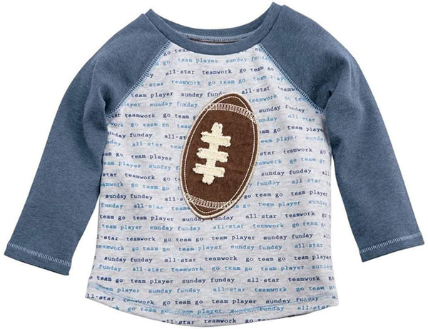 MUD PIE SUNDAY FUNDAY FOOTBALL TEE