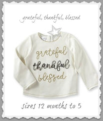THANKSGIVING GRATEFUL or TURKEY TEE