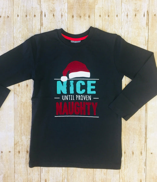 Boys Holiday Tee