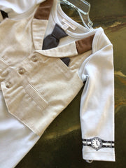BOYS DRESS UP ROMPER