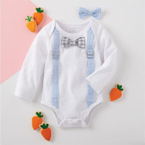 Mud Pie Onsie with changeable Bow Tie