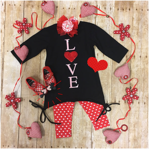 VALENTINE TUNIC 2PC