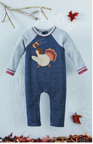 MUD PIE TURKEY ROMPER