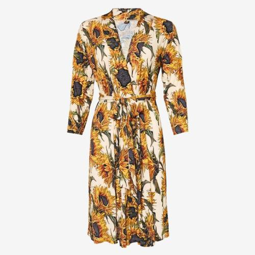POSH PEANUT SUNFLOWER MOMMY ROBE