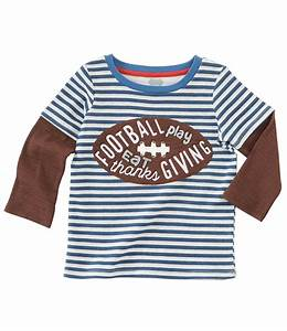 MUD PIE FOOTBALL/THANKSGIVING TEE