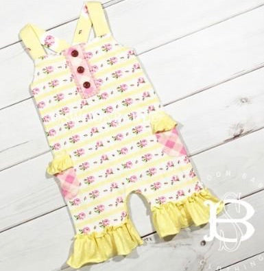 SWOON BABY YELLOW ROMPER