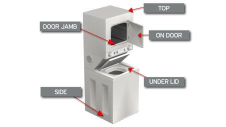 Washer Dryer Combo Model Number Location 2