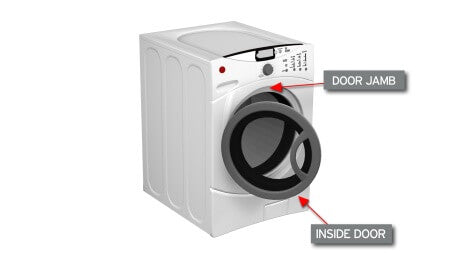 Washing Machine Front Load Model Number Location