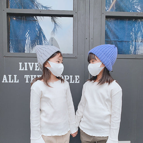 STYLE MASK for KIDS ライトグレー XS  -52