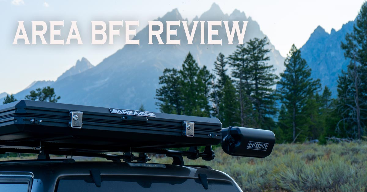 Area BFE Roof Top Tent Review
