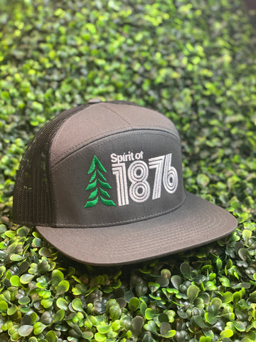 Spirit Of 1876 Logo 7 Panel Camper