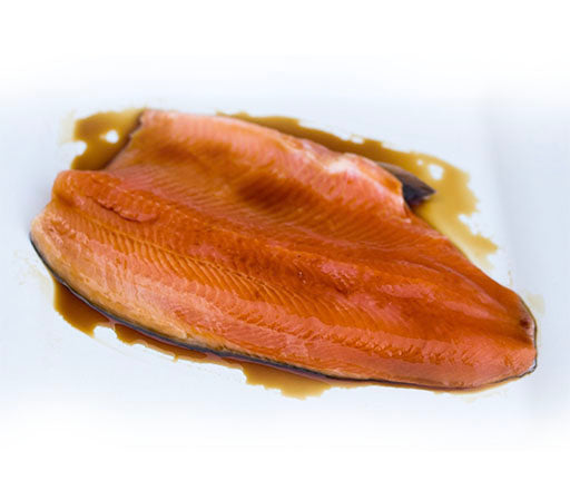 Marinated Bourbon Trout