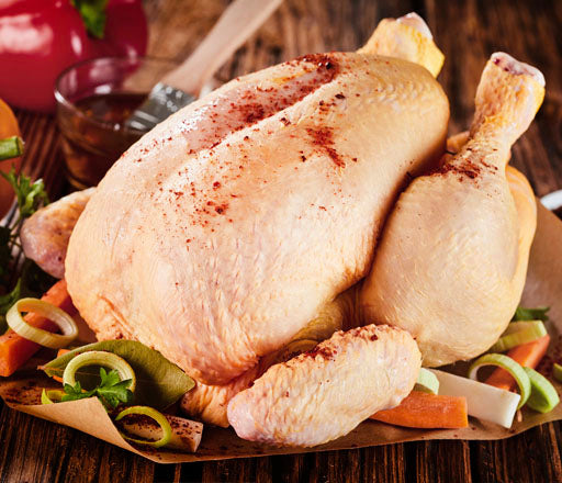 Whole Chicken ( Poulet Rouge )