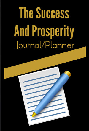 The Success And Prosperity Journal & Planner By Ryan Hicks