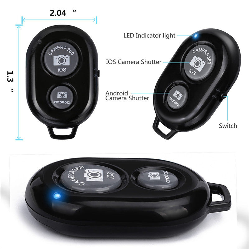 Wireless Bluetooth Phone Camera Remote Control