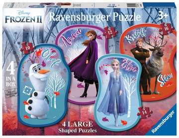 Ravensburger Disney™ Frozen 2, 4 Large Shaped Jigsaw Puzzles