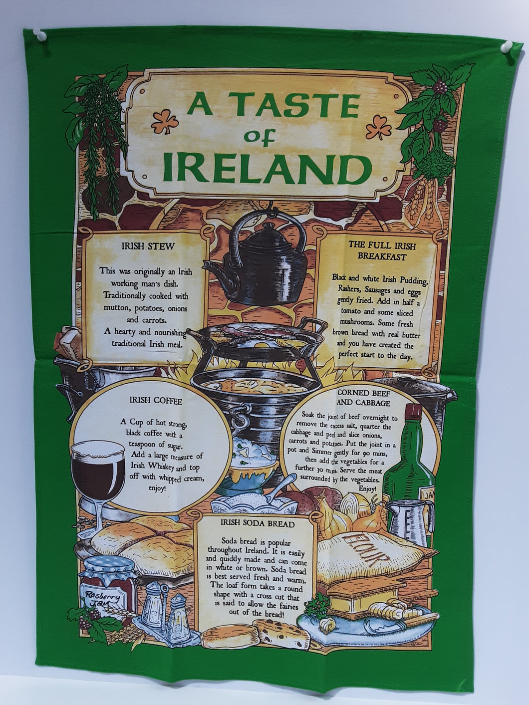 A Taste of Ireland Tea Towel