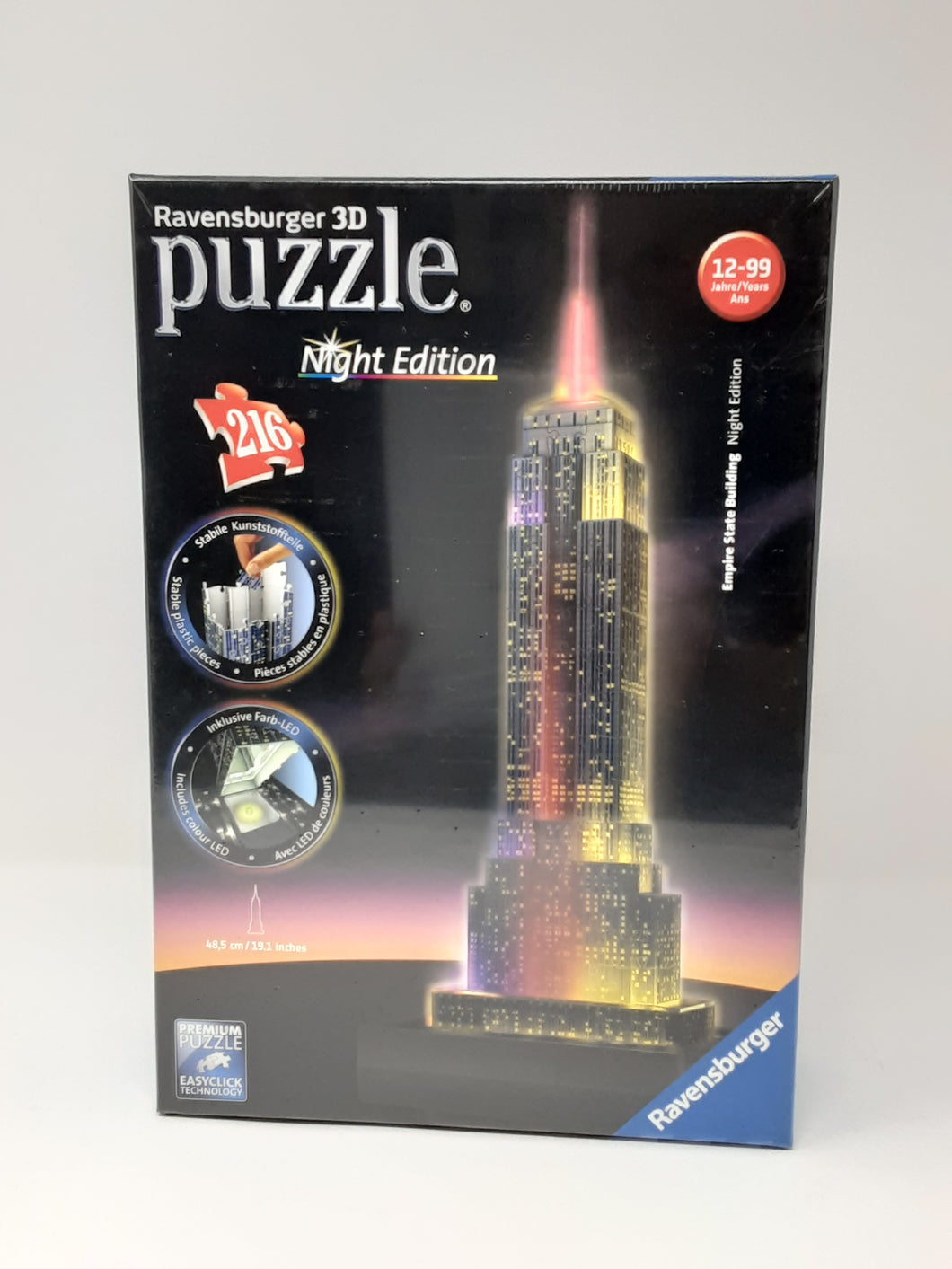 3D Puzzle Empire State Building Night Edition