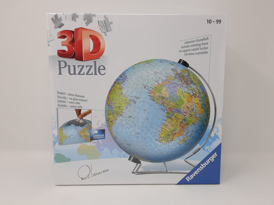 Ravensburger The World on V-Stand Globe Puzzle