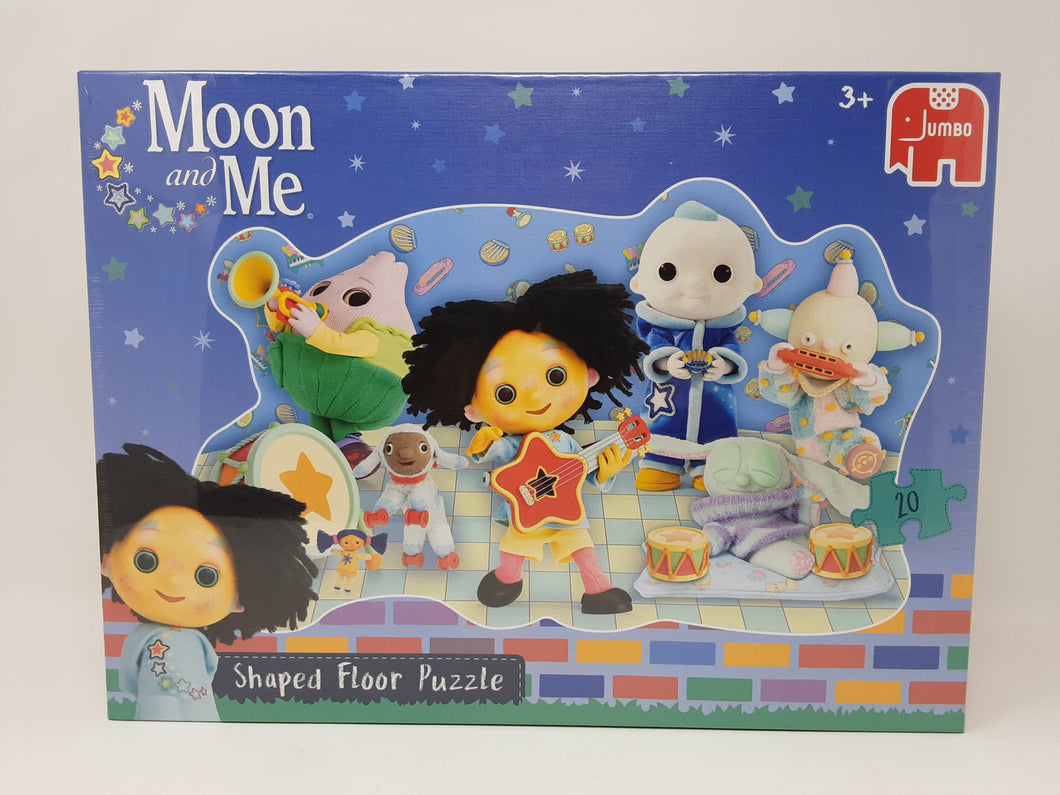 Jumbo - Moon and Me Shaped Floor Puzzle