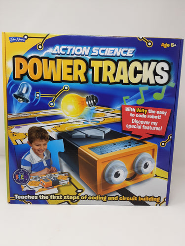 power tracks - action science, coding & circuit building