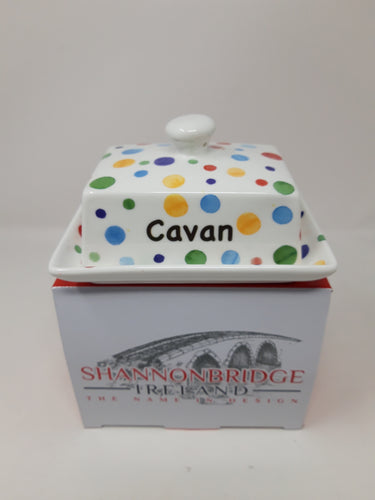 Ceramic Cavan Butter dish