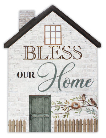BLESS OUR HOME PLAQUE, new home