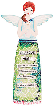 Porcelain Message Angel - guardian angel