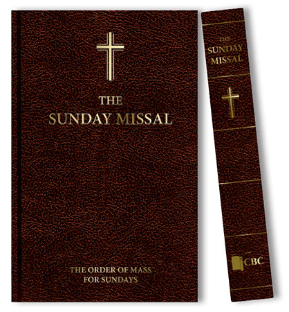 Roman Sunday missal, the order of mass for Sundays