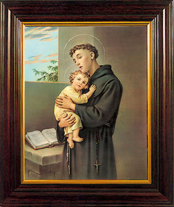 Framed Picture St. Anthony