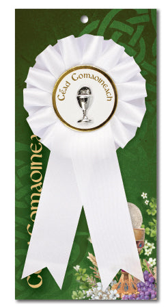 Communion Rosette/Chalice/IRISH WORDING