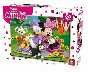 Disney Junior Minnie - 24 piece jigsaw puzzle