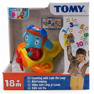 Tomy Counting with Luke the Loop